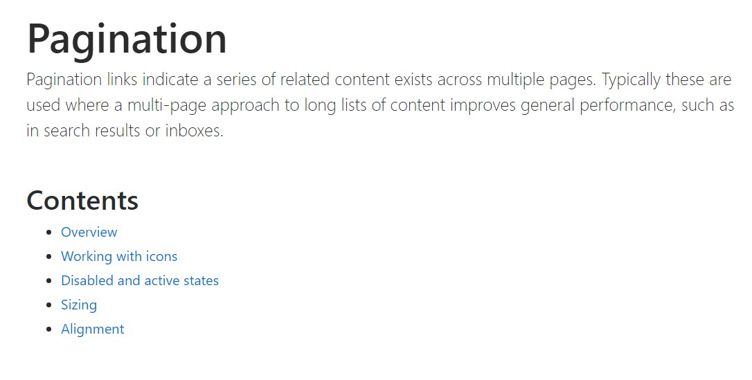 Bootstrap pagination  approved  information